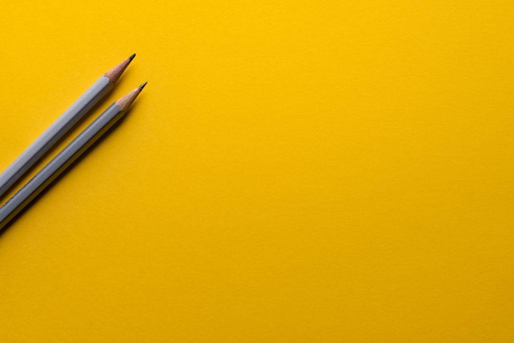 二本の鉛筆